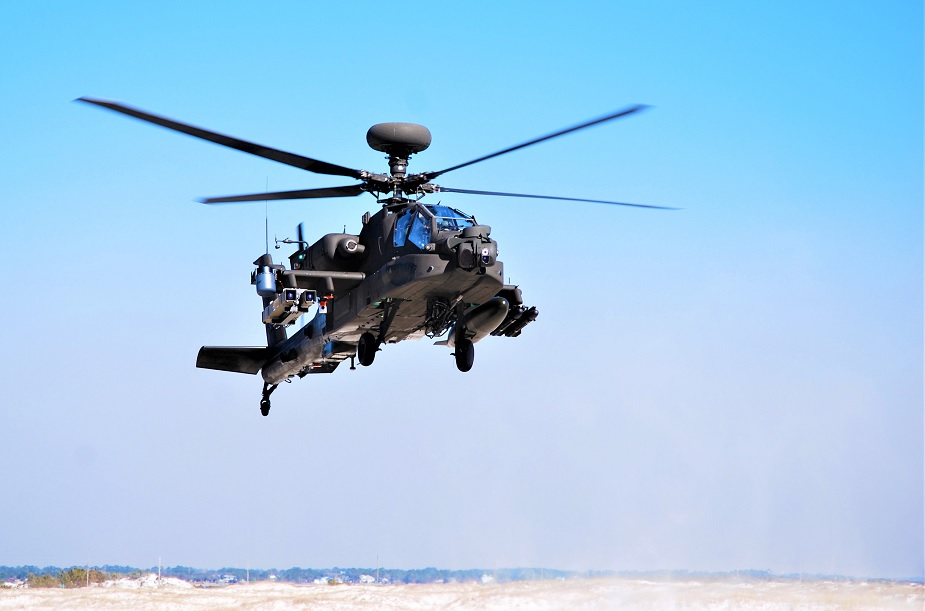US Army completes demonstration of AH 64E helicopter equipped with SPIKE NLOS missiles