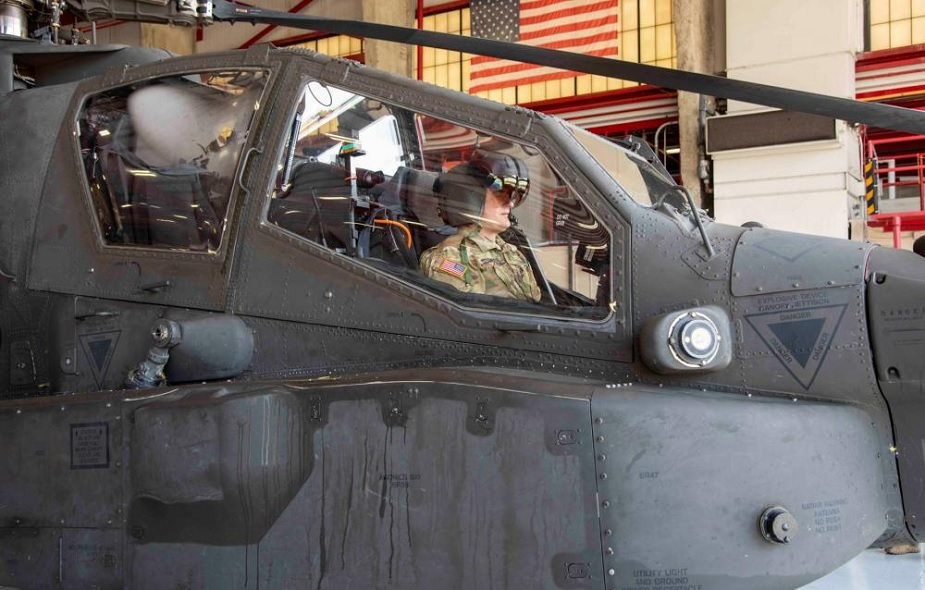 US Army carried out flight tests with new HMD for AH 64E Apache helicopter