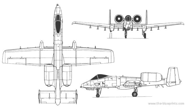 A-10 Thunderbolt II close air support aircraft technical data sheet specifications intelligence description information identification pictures photos images video US USAF United States American Air Force aviation aerospace defence industry military technology