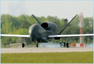 RQ-4 Global Hawk unmanned aerial system technical data sheet specifications intelligence description information identification pictures photos images video Northrop Grumman United States American US USAF Air Force aviation aerospace defence industry military technology
