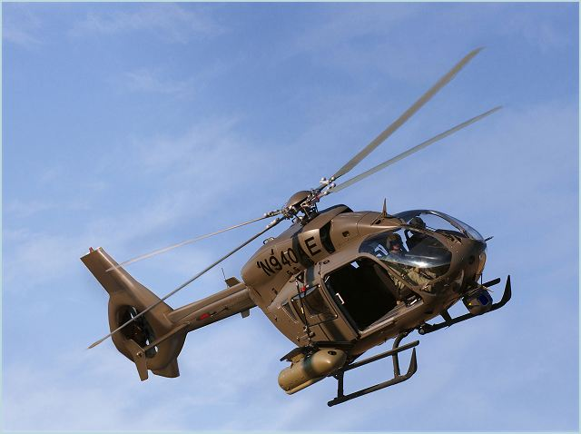 EADS North America has begun its voluntary flight demonstration (VFD) for the Army's Armed Aerial Scout helicopter program, flying two aircraft at a high-altitude test site for a series of demonstrations that will showcase the superior performance of the company's AAS-72X+ offering.