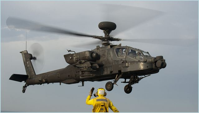 Indonesia obtained approval from U. S. government on its proposal to acquire AH-64 Apache combat helicopters with procurement document signed by Indonesian Defense Minister Purnomo Yusgiantoro and visiting U.S. Defense Secretary Chuck Hagel here on Monday, August 26, 2013.