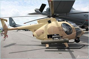 AH-6i light attack reconnaissance helicopter technical data sheet specifications intelligence description information identification pictures photos images video Boeing United States American US USAF Air Force aviation aerospace defence industry military technology