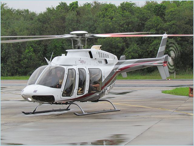 Bell 407GX light tactical utility helicopter technical data sheet specifications intelligence description information identification pictures photos images video United States American US USAF Air Force aviation aerospace defence industry military technology