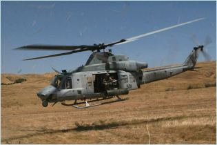 UH-1Y Bell medium range utility helicopter technical data sheet specifications intelligence description information identification pictures photos images video United States American US USAF Air Force aviation aerospace defence industry military technology