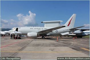 E-7A WEDGETAIL Airborne Early Warning & Control aircraft technical data sheet specifications intelligence description information identification pictures photos images video Australia Australian Air Force defence aviation aerospace industry technology